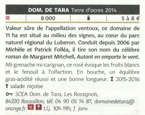 Hachette 2016 TOR
